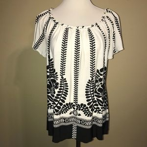 Wide Rope Neck Shirt